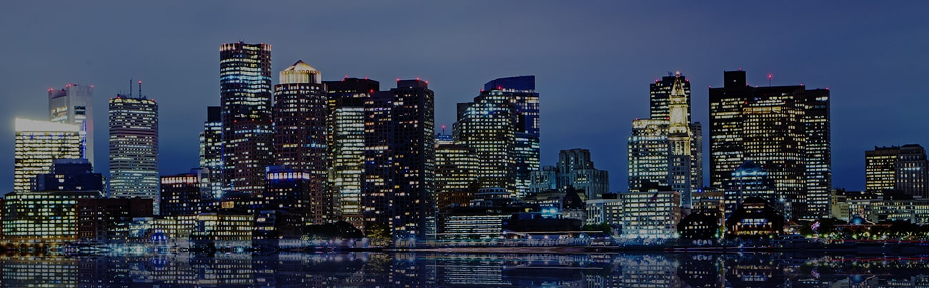 Boston Evening Skyline